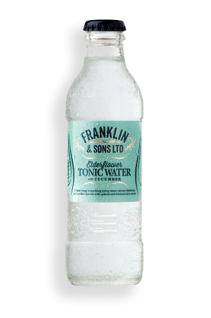Franklin & Sons Elderflower Tonic Water Cucumber