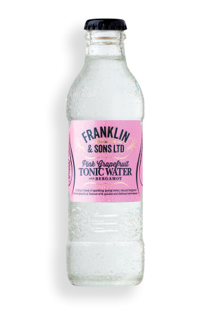Franklin & Sons Pink Grapefruit Tonic Water Bergamot