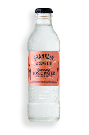 Franklin & Sons Rosemary Tonic Water Black Olive